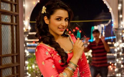 Parineeti Chopra舞蹈壁纸