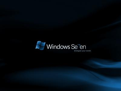 Windows Se7en黑暗